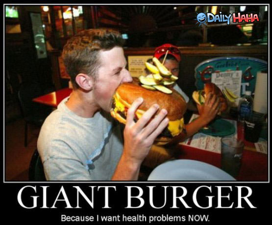 giant burger health problems