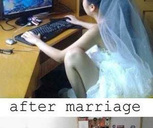 A Gamer Bride funny picture