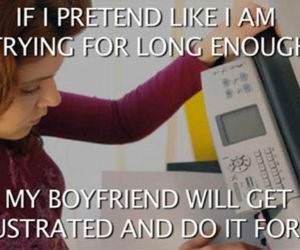 Girlfriend Logic funny picture
