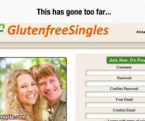 gluten free singles funny picture