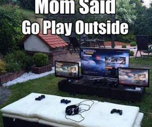 go play outside funny picture
