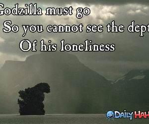 Godzilla Must Go funny picture