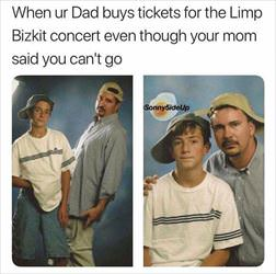 going to limp bizkit