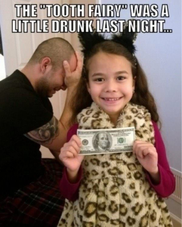 Good Job Tooth Fairy funny picture