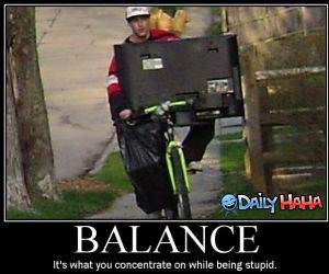 Good Balance funny picture