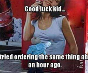 good luck kid funny picture