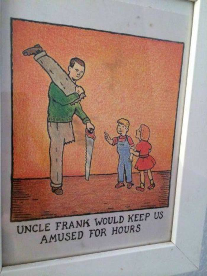 good old uncle frank funny picture