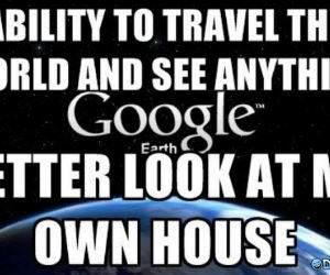 Google Earth funny picture