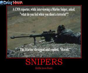 Gotta Love Snipers Pic