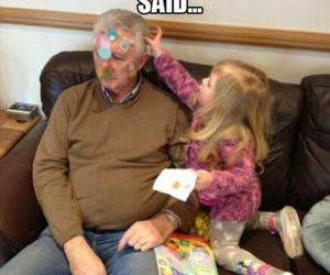 Granfather Time funny picture