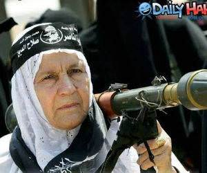 Grandma Rocket Launcher Picture