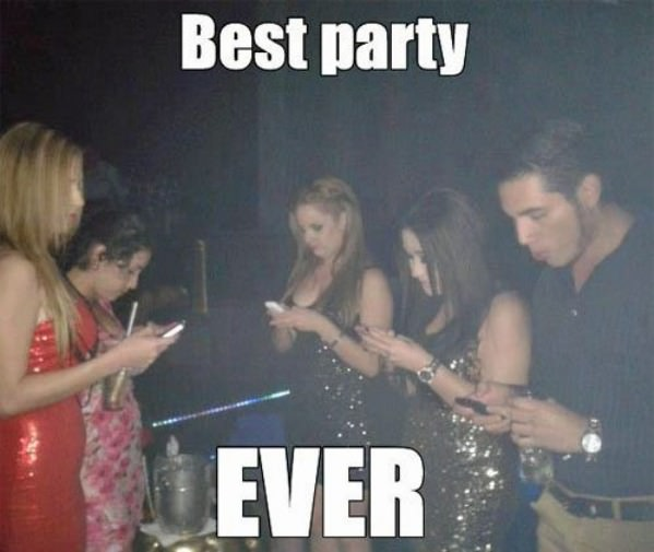 Grat Party Funny Picture