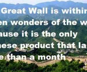 Great Wall Of China funny picture
