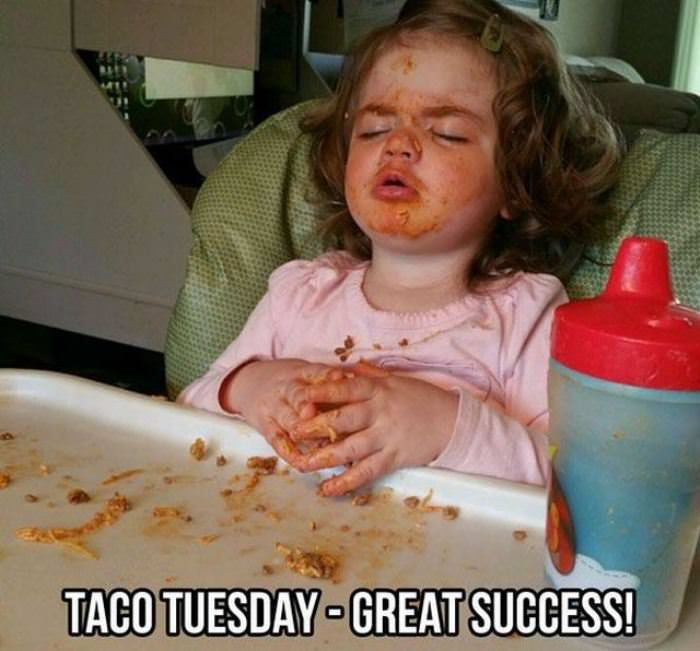 great success taco tuesday