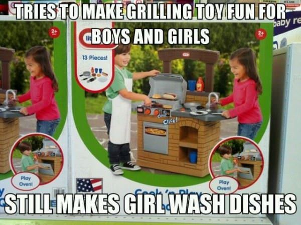 grilling toy funny picture