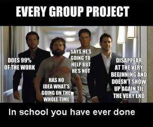 All Group Projects funny picture