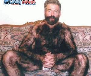 Hairy Monkey Man