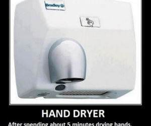 Hand Dryer funny picture