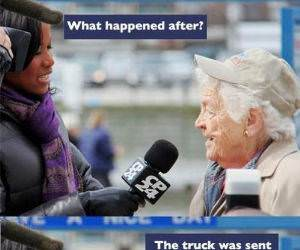 Hazel McCallion funny picture
