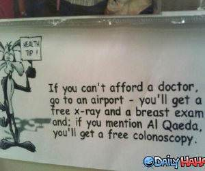 Health Tip funny picture