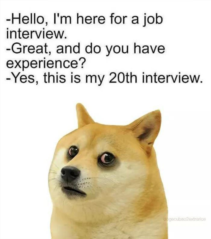 here for the interview