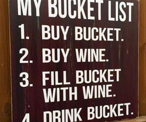 here is my bucket list funny picture