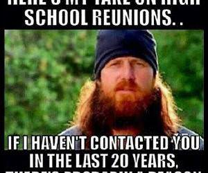 high school reunions funny picture