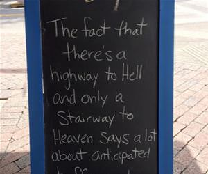 highway to hell funny picture