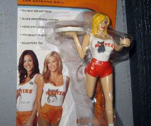 Hooters action figures