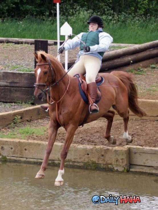 Funny Horse Riding