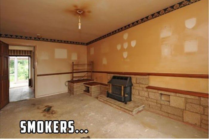 house full of smokers funny picture