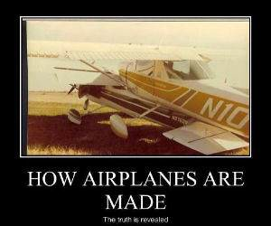 How Airplanes Are Make funny picture