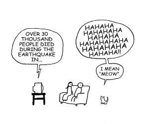 How Cats Think funny picture