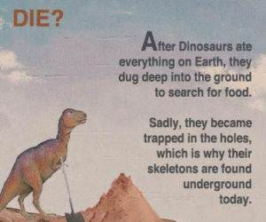 How Dinos Died funny picture