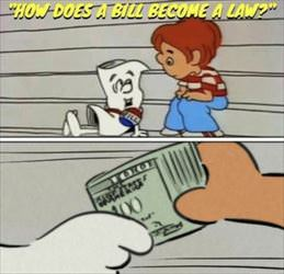 how does a bill become law