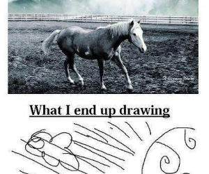 How I Draw funny picture