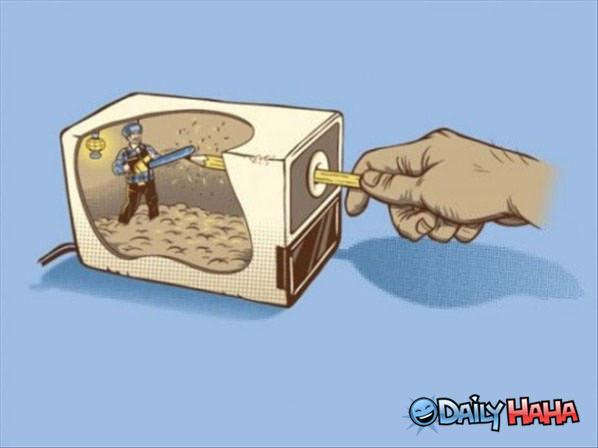 Pencil Sharpener funny picture
