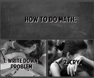 Hot To Do Math funny picture