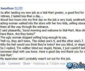 Fired From Walmart funny picture