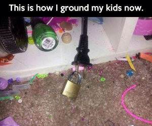How to Ground Your Kids funny picture