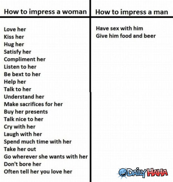 How to Impress funny picture