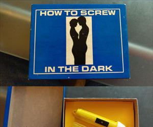 how to screw in the dark