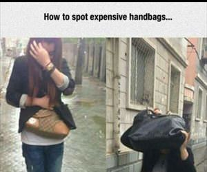 how to spot expensive bags