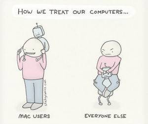 We Treat Our Computers