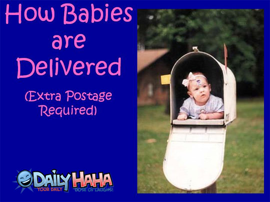 Baby Delievered By Mail