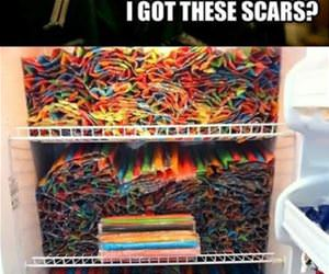 how i got these scars funny picture