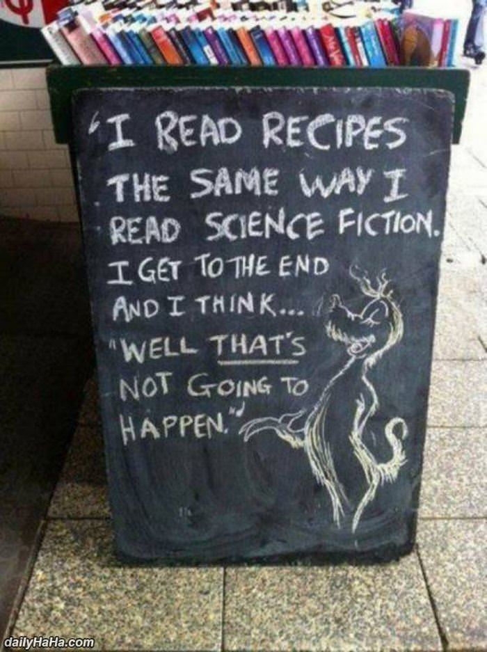 how i read recipes funny picture