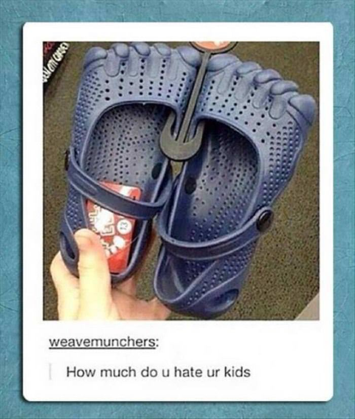 how much do you hate your kids funny picture