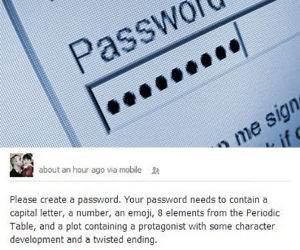 how passwords are now funny picture