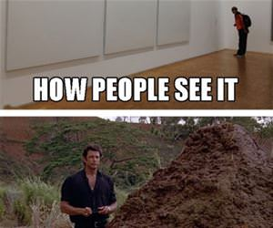 how people see art funny picture